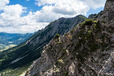 Klettersteig Iseler : Salewa klettersteig am iseler dregli